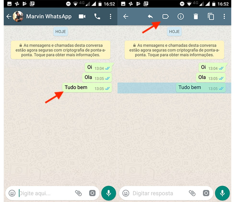 Criando uma etiqueta no Whatsapp Business
